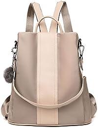 Women's Backpack, LOSMILE Rucksack Nylon School Bag Ladies Handbag Shoulder Bags Lightweight Daypack Anti-Theft Bags