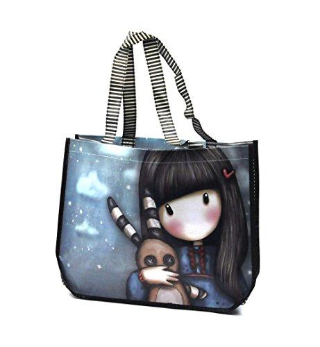 Hush Little Bunny – Woven Shopper Bag By Gorjuss