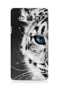Amez designer printed 3d premium high quality back case cover for Samsung Galaxy A7 (white tiger)