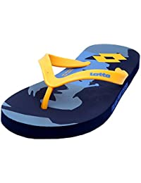 Lotto Men's Yellow/Blue Hawaii House Slippers-6 UK/India (40 EU) (AC4853-343)