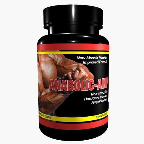 ANABOLIC AMP | Non-Steroidal Hard Core Muscle Amplification |The Original | for MaXimum Results | Muskelaufbau Muskelschutz Muskelstraffung für Männer & Frauen | Premium GMP & ISO 9001 Qualität (Mann-sport Iso Amino)