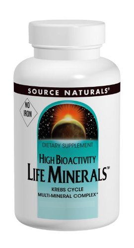 Source Naturals Vitamine B6 (Life Minerals No Iron 60 Tablets)