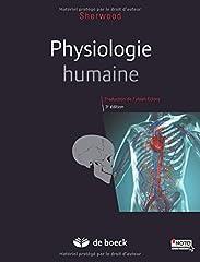 estimation pour le livre Physiologie humaine