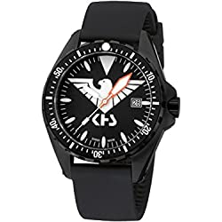 KHS Mens Watch MissionTimer 3 Eagle One KHS.MTE.SB