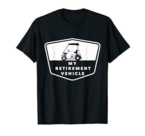 Caddy Golfer Golfauto Shirt - Rente Golfspieler Opas Caddy