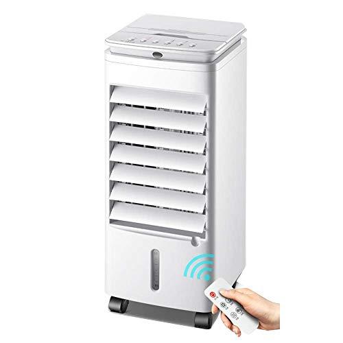 Climatiseur portatif Humidification Refroidissement par eau Maison petit climatiseur mobile [blanc]
