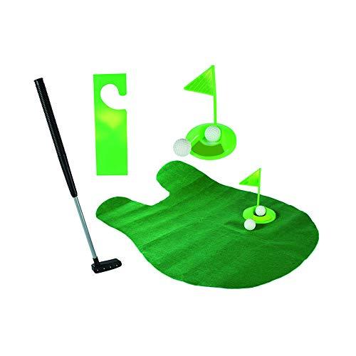 Beito WC Mini Golf-Spiel Potty Putter Putting Mat Golf-Spiel
