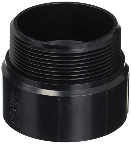 Genova Products 80430 ABS-DWV Male Adapters, 3 by Genova (Dwv Adapter)