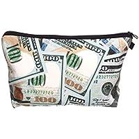 Beauty Case, borsa da viaggio, borsetta da toilette sacco sacchetto bagno per cosmetici trucco make up motivi diversi, Kosmetiktasche KT-002-050:KT-023 banconota