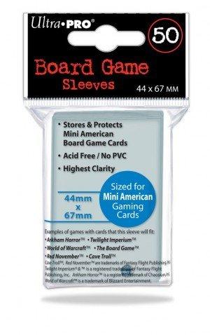 Preisvergleich Produktbild UP Board Game Sleeves 41 x 63 mm