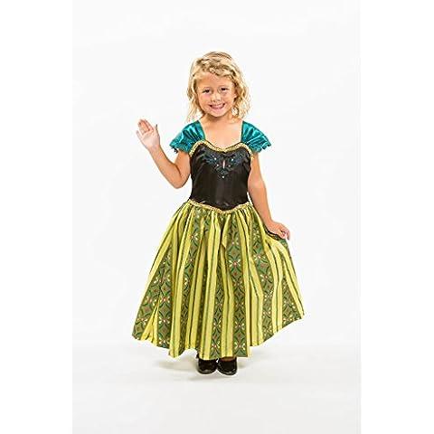 Heart to Heart - Disfraz infantil, diseño de Frozen, vestido de la princesa Anna el Día de la