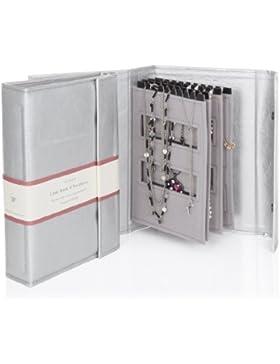 Silber - Little Book von Halsketten - Ein Buch für die Aufbewahrung Ihrer Ketten Tangle frei und sicher!