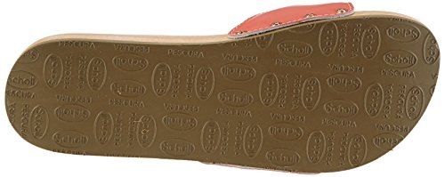 Scholl - Pescura Sporty Flat Coral, Sabot Donna Rosso (Rosso (Coral))