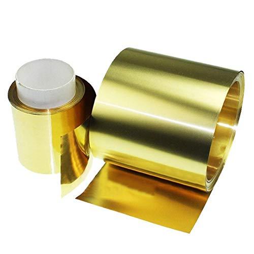 Sellify 1 Stück Blech Dünne Folien Metall Zubehör 0,02 x 100 x 1000 mm mit Korrosionsbeständigkeit