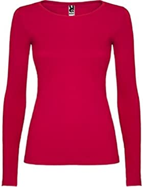 AKARURE Camiseta Básica Mujer Manga Larga - 100% Algodón