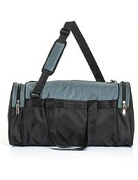 BGS BagsRus DF106FAG Small Travel Bag(Grey)