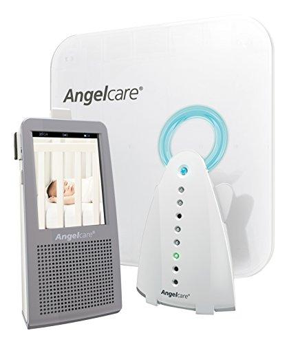 Angelcare - Ecoute-bébé vidéo AC1100 - Moniteur mouvements et sons, veilleuse