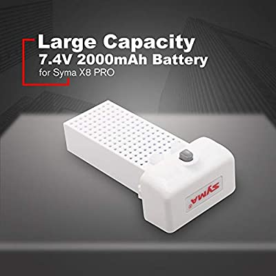 FDBF Large Capacity RC Drone RC Quadcopter 7.4V 2000mAh Battery for Syma X8 PRO