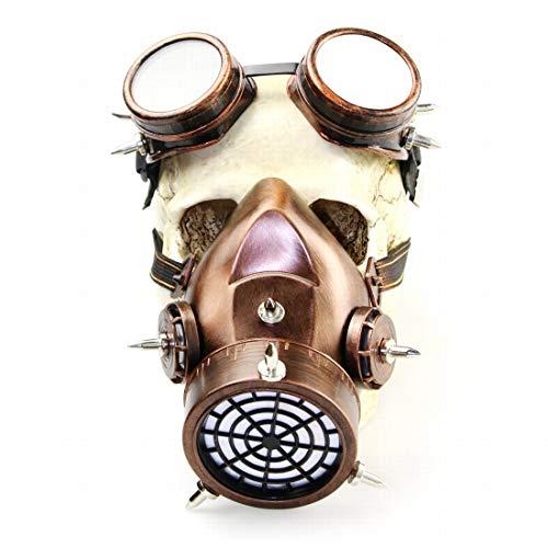 Ovesuxle Gothic Mask Makeup Steampunk Gasmaske für die (Fallout Cosplay Kostüm)