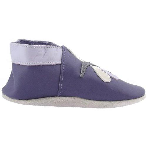 Bobux Dragonfly, Chaussures premiers pas bébé Violet