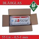 Poraver 55 Liter 0,5-1 mm Blähglas Dämmung Schüttung, Körnung:0.5-1 mm