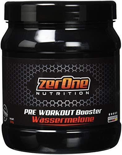 ZerOne Pre Workout Booster Fitness   Maximaler Pump Fokus   Leucin   Isoleucin   Valin 2:1:1   Energie Kraft Ausdauer   L-Citrulline Maca   Koffein Guarana   Taurin   Wassermelone 500g