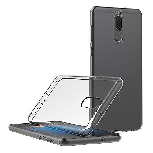 Cover Huawei Mate 10 Lite, AICEK Cover Huawei Mate 10 Lite Silicone Case Molle di TPU Trasparente Sottile Custodia per Huawei Mate 10 Lite (5,9 ...