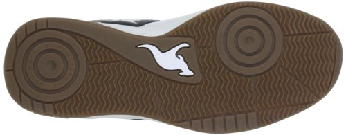 Kangaroos Speedball, Chaussures de sport homme Blanc (Wht/Blk 5)