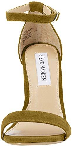 STEVEN by Steve Madden Carrson Sandal, Sandales  Bout ouvert femme Vert - Olive
