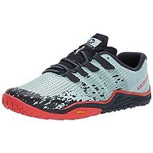 Merrell Women's Trail Glove 5 Fitness Shoes, Blue (Aqua), 4.5 (37.5 EU)