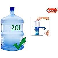 MAXELLPOWER Dispensador de Agua para garrafas de 20 litros facil Uso Calidad Compatible con Las Principales
