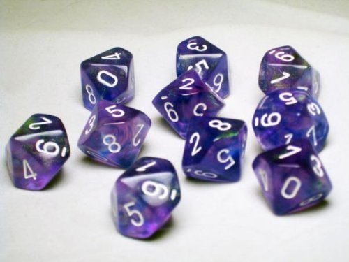 chessex-dice-sets-borealis-purple-with-white-ten-sided-die-d10-set-10