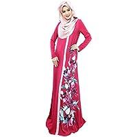 TIKEHAN Abito Arabian/Abaya/Kaftan Dress Festival/Holiday Halloween Costumes Halloween Green Printing Fashion Danza