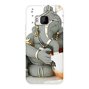 Ganesha Ji Multicolor Back Case Cover for HTC One M9