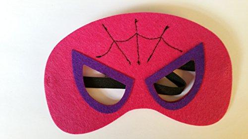 Kostüme America Mädchen Captain (Kinder Maske, Motiv: Superheld aus