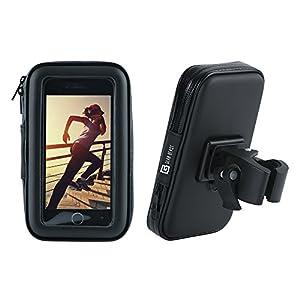 Gear Beast universel étanche avec support vélo est conçu pour installer rapidement et facilement, sans outils, sur n'importe quel vélo, chariot ou poussette bar et est spécialement conçu pour Smartphones avec un écran jusqu'à 13,2cm. SerrageGrip pou...
