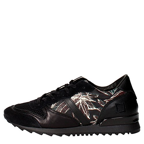 D.a.t.e. BOSTON Sneakers Damen Schwarz