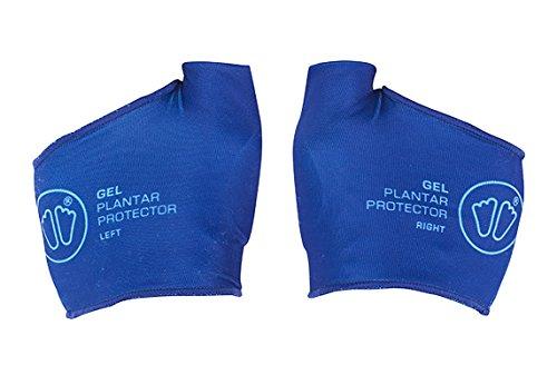 Sidas askinglplapr17Protezioni Piedi in gel unisex blu