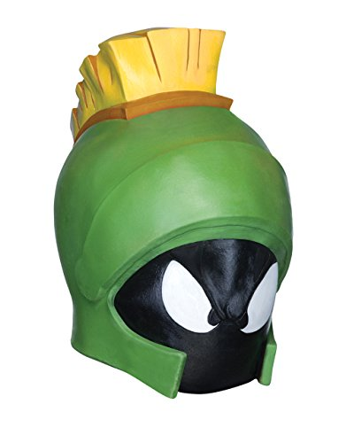 Kostüm-Maske, Motiv Looney Tunes Marvin der Marsmensch Herren (Der Kostüm Marsmensch Marvin)