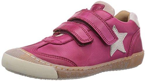 Bisgaard Velcro shoes Unisex-Kinder Sneakers Pink (14 Pink)