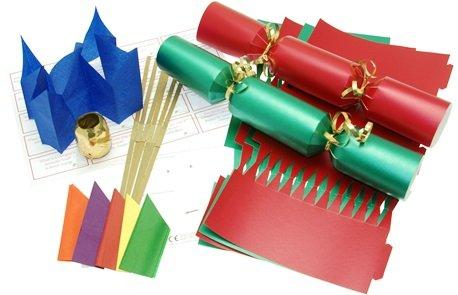 10-x-make-your-own-14-red-green-christmas-cracker-kit