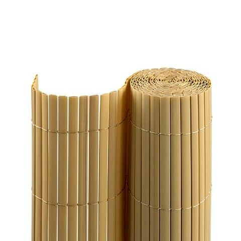 Canisse Bambou 3x1 5m - JAROLIFT Canisse en PVC pour jardin, balcon
