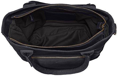 Amsterdam Cowboys Bag Mellor, Sacs portés épaule Gris - Grau (Antracite 110)