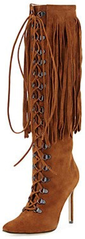 DESY Da Da Da donna Stivaletti Stivali Scarpe formali Finta pelle Inverno Casual Formale Stivali Scarpe formali Cerniera... | La qualità prima  d48cf8