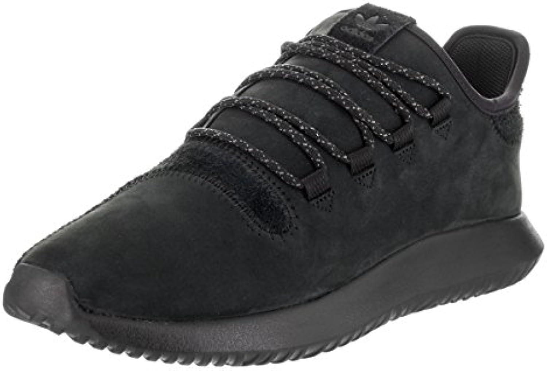 l'ombre de base noires tubulaires chez adidas noires base / en blanc, 9,5 6d5557