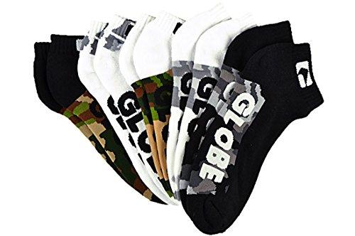 Globe Malcom camo 5er Pack Knöchel Socken