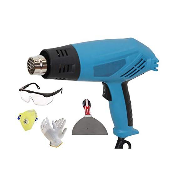 Digital Craft 2000W Heat Gun Industrial Electric Hot Air Gun Kit Professional Heat Guns Shrink Wrap Blower Heater