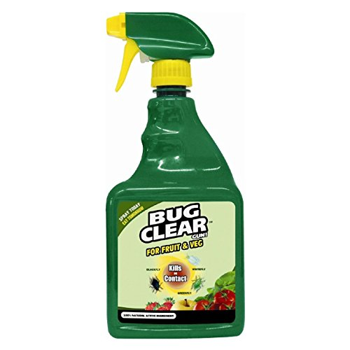 BugClear Fruit and Veg Gun! Insecticide Spray, 800 ml