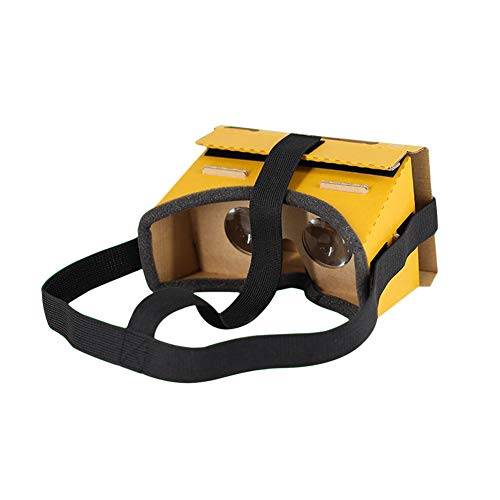 Meijunter VR Brille für NS Switch - Virtual Reality Spiele VR-Brille DIY Kuhfell Karton für Nintend Switch NS