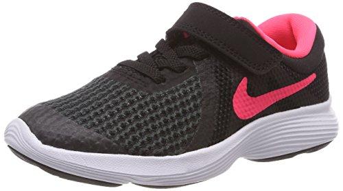 Nike Mädchen Revolution 4 (PSV) Laufschuhe, Schwarz (Black/Racer Pink. 004), 28.5 EU - 28.5